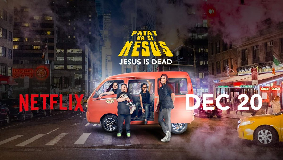"""""""Patay na si Hesus"""" is a Filipino dark comedy that's funny, thoughtful, and sometimes bizarre... without being corny!  Premiered on QCinema 2016, finally available on #Netflix."""