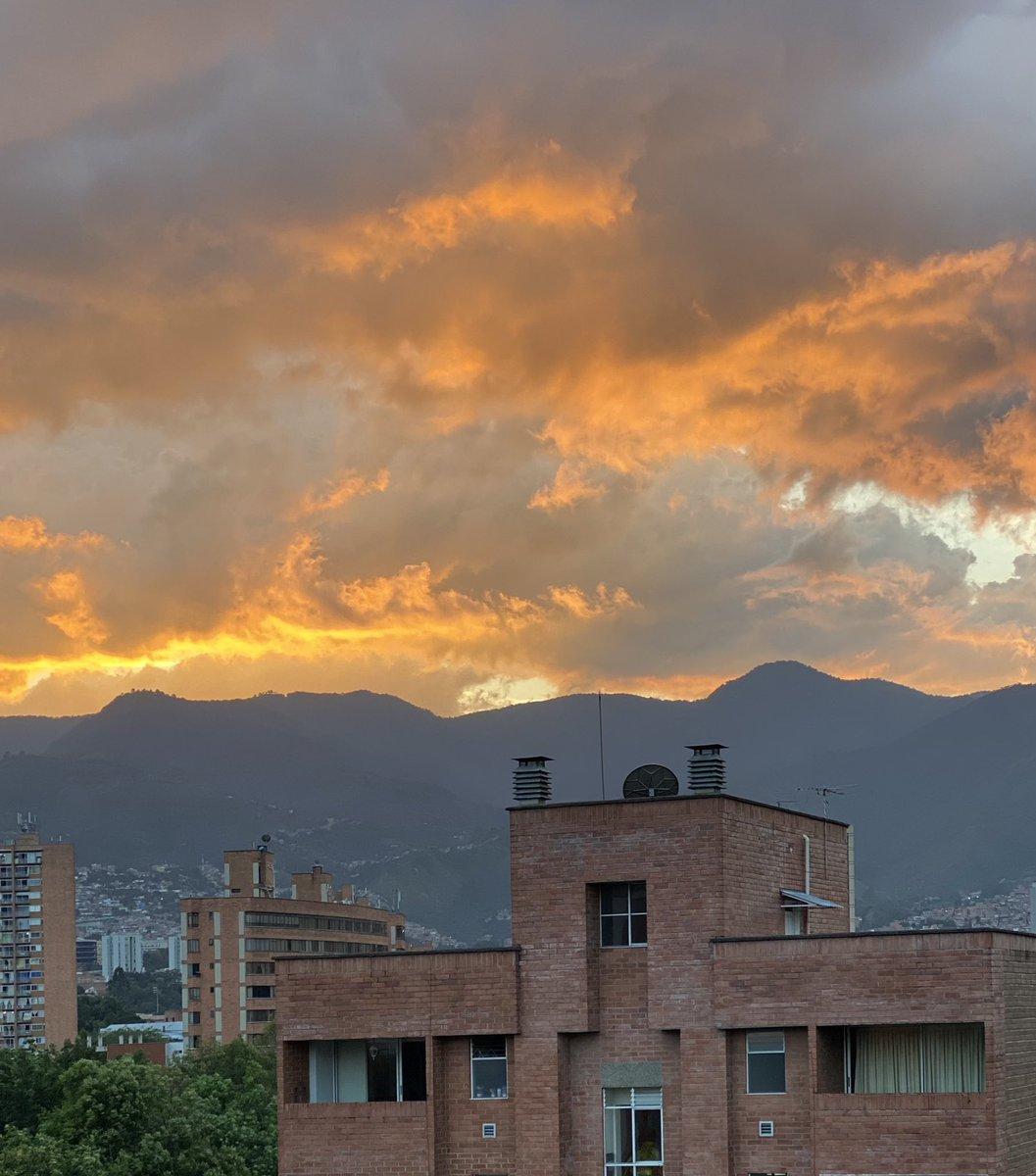 #Medellin #Sky #Fire