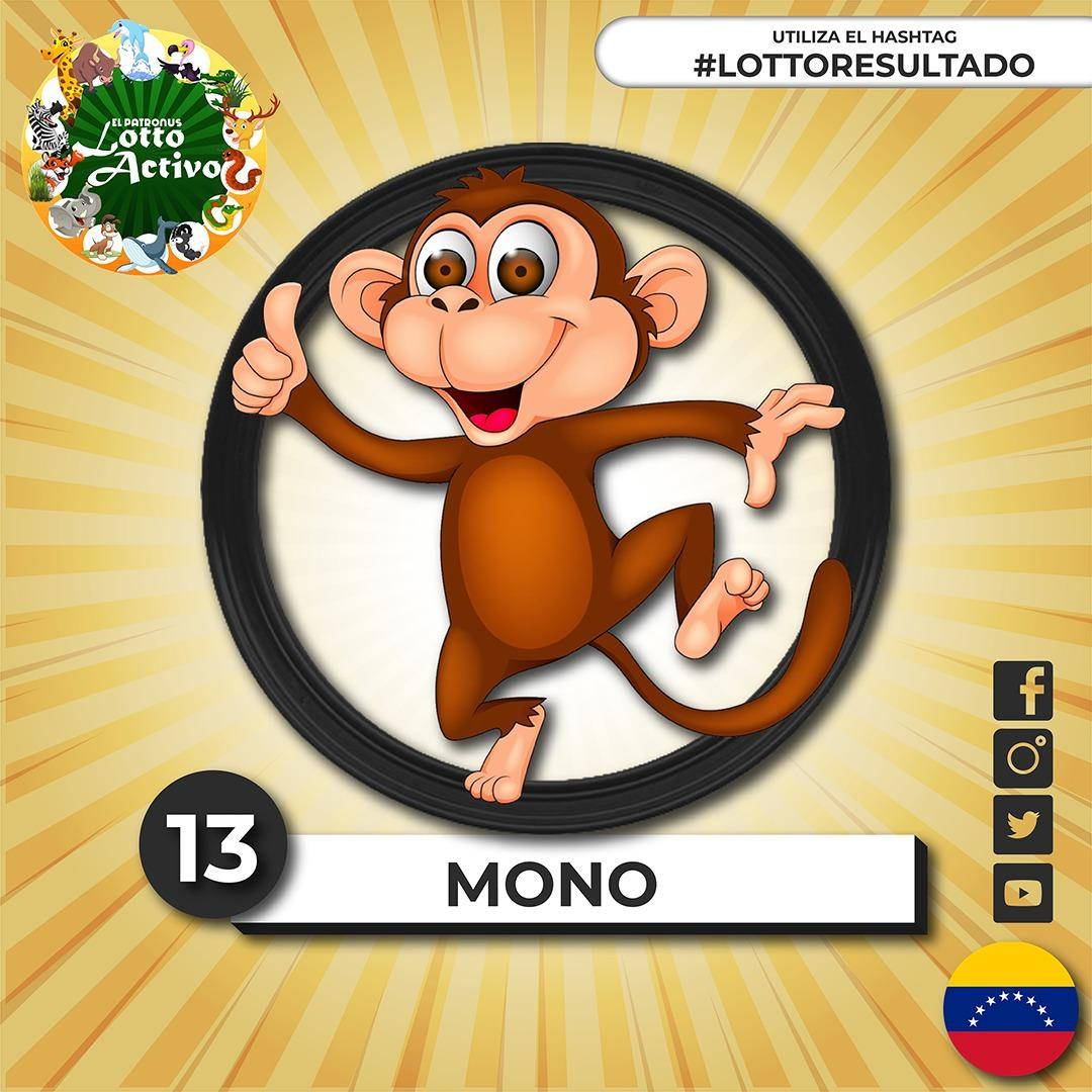 #QuédateEnCasa  #lottoresultado del 16/01/20201 Sorteo N°:10363 07:00 PM  13 - MONO     #EPatronus #LottoActivo