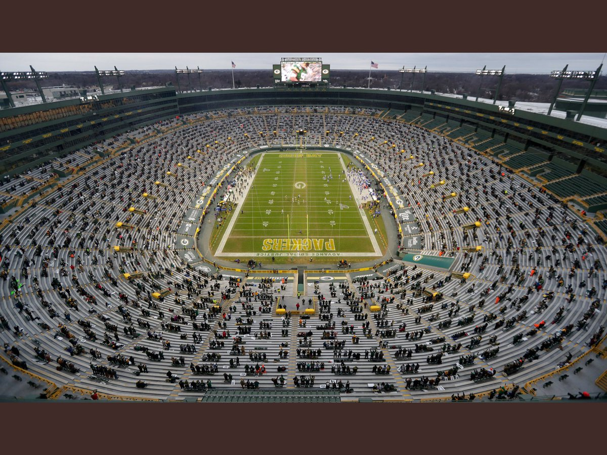 This weeks lottery winners are. #LARvsGB #GoPackGo