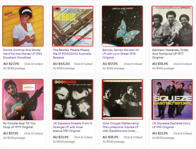 Vinyl Records for Sale We combine Postage   #donnasummer #thebeatles #barclayjames #spinners #rycooder #uksqueeze #johncougarmellencamp #vinyl #bargain #records #lp #albums #vinylcollection