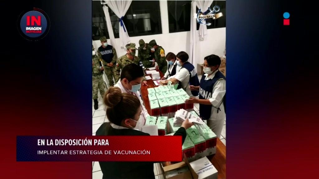 Reitera el gobernador de Yucatán, @MauVila, la disposición de gobernadores estatales para colaborar en la implementación de la estrategia de vacunación contra #COVID19 en el país.  Más información en #ImagenNoticias #ImagenInforma #SéFuerteMéxico #QuédateEnCasa