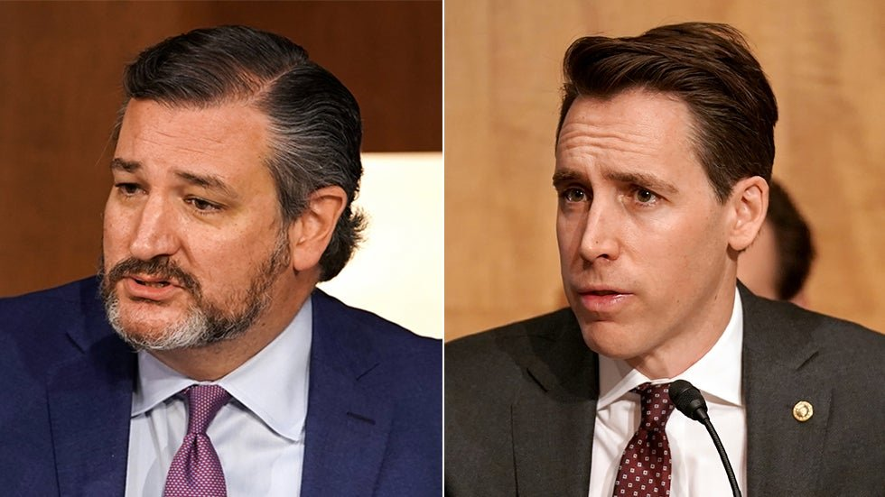Democratic super PAC targets Hawley, Cruz and other Republicans who objected to the 2020 election results in new ad blitz