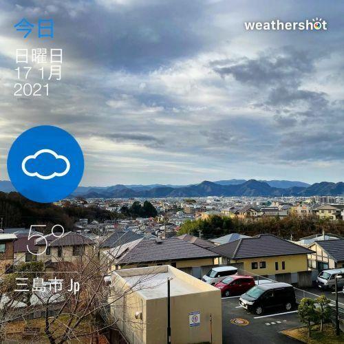 おはようございます。 晴れ。7時の気温5℃。 まあまあ暖かいです。 今日は片付けやろうかなあ。  #sky ...