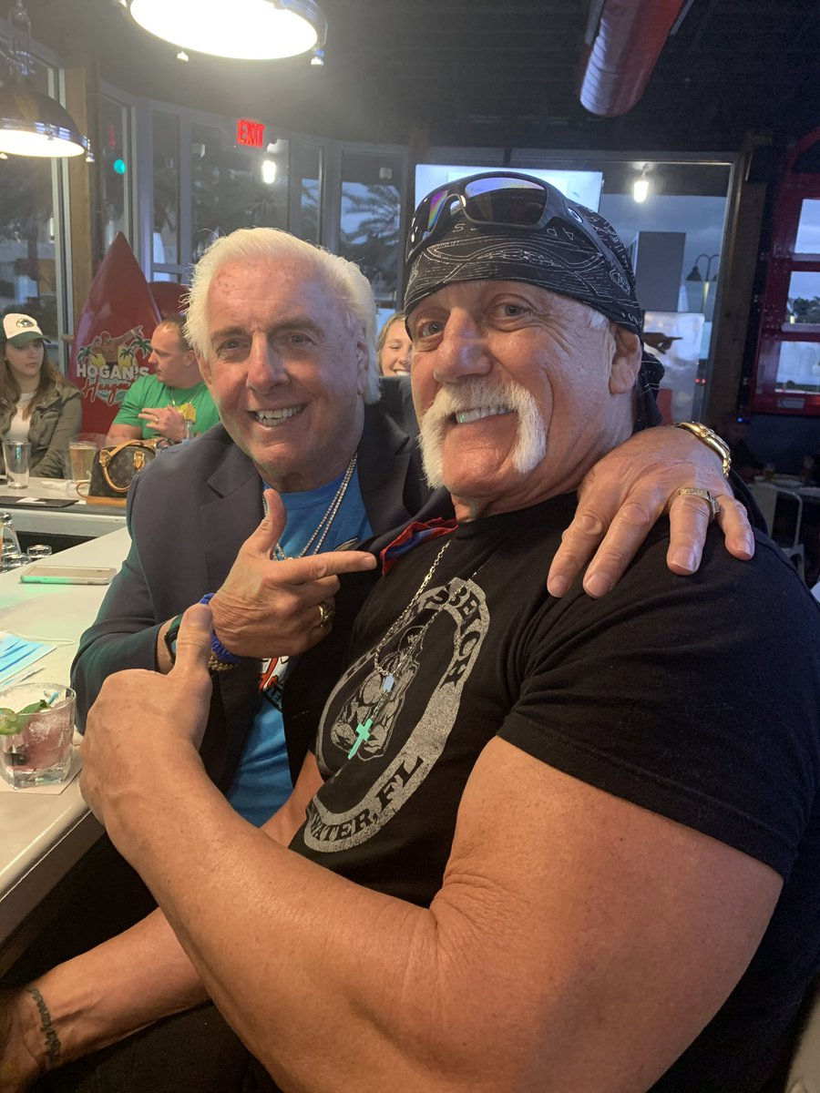 We Have Made History!! But More Importantly, He Has Always Been There For Me Through Hard Times! Thank You @HulkHogan! 🙏🏻