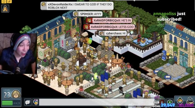 this day will go down in history #NOTMYHABBO