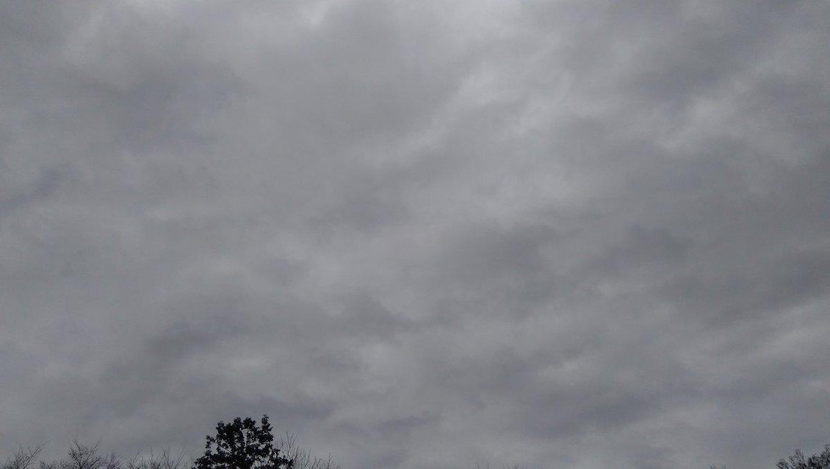 #おはようございます #今朝の空 #sky #医療従事者に感謝 #おかげさま 埼玉から見える空 曇り空 昨日より気温がくぐっと下がったので、より寒く感じる