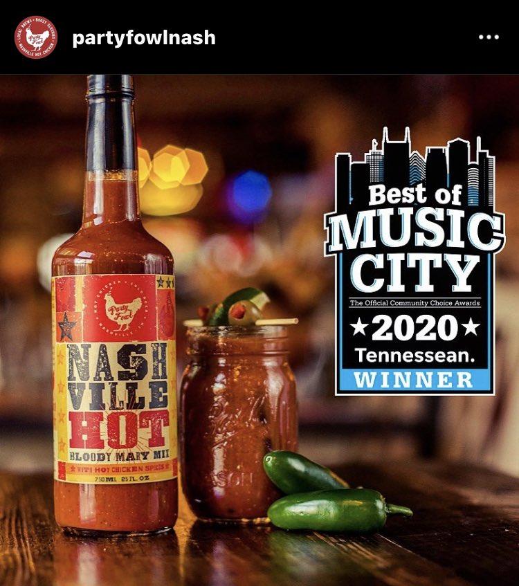 #WINNING ....... I mean already told yeah @PartyFowlNash is the best #food #beer #nashville #tennessee #hotchicken #chicken #bloodymary