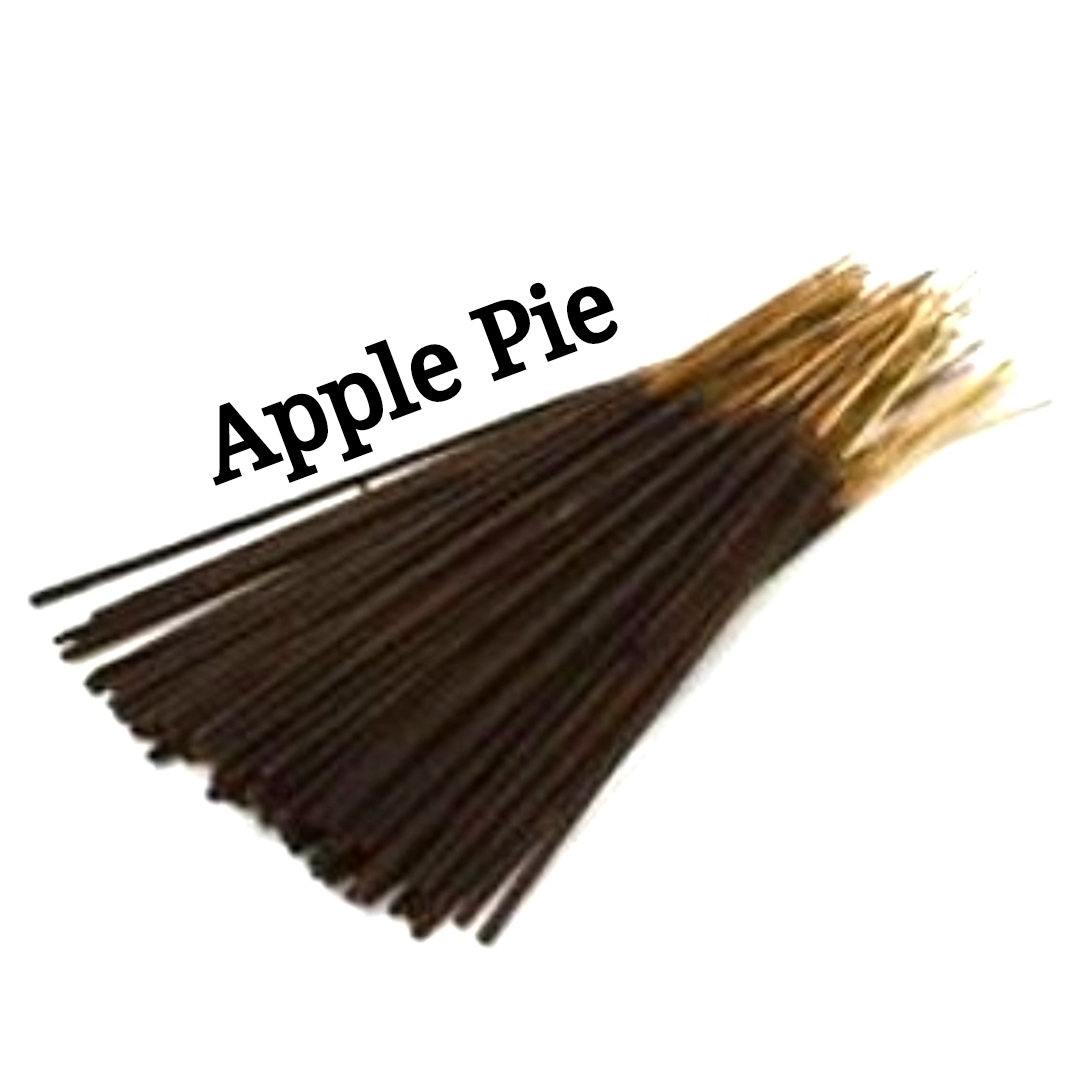 Incense Sticks | Apple Pie | 30 Incense Sticks | Incense Bundle  #Incense #HerbalRemedies #PerfumeBodyOils #AromatherapyOil #Wedding #GiftShopSale #BlackFriday #Etsy #HomeFragranceOil #CyberMonday #CeremonyIncenses