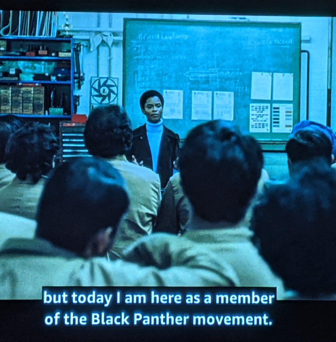 Well, Steve McQueen has made Letitia Wright *a* Black Panther. So close. #mangrove #smallaxe https://t.co/m7ZbdKf7ND
