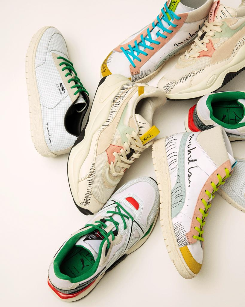 Hmm...picking just one is going to be tough you might as well cop the lot. The PUMA x @michaellau Collection dropping soon.