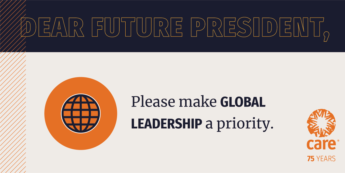 Tell U.S. President-elect Biden to fight for a more just and equal world:  #Inauguration2021