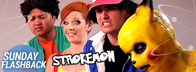 Why jerk off to boring porn when you can get weird with our Strokemon parody! https://t.co/9t0IVTeGmM