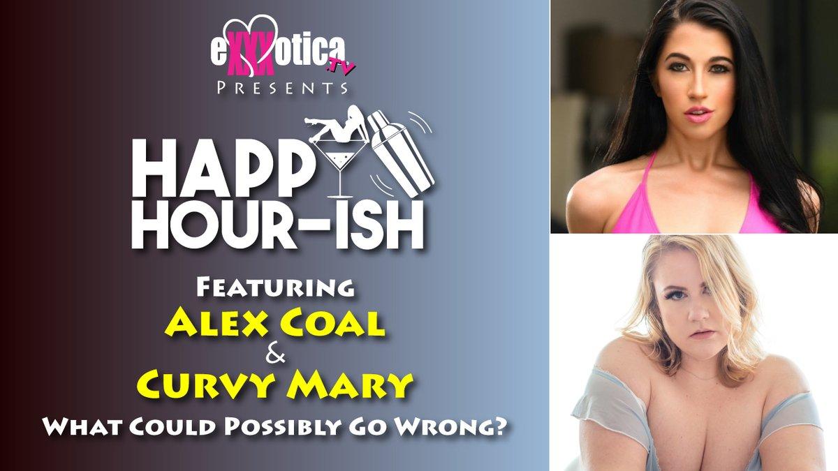 "Listen To Last Friday's 's ""The Happy Hour-ish""  With Alex Coal @AlexxxCoal & Curvy Mary @CurvyMary8 On Our Podcast:     #EXXXOTICAtv #podcast #HappyHour-ish #AlexCoal #CurvyMary"
