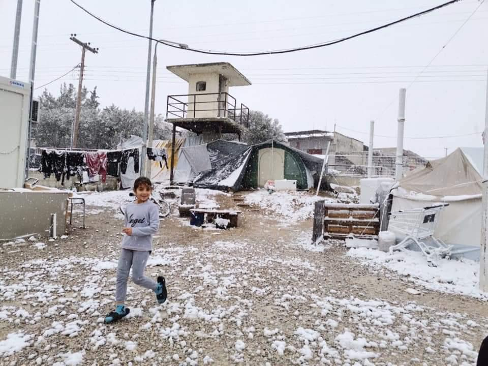 This is what winter in Greek refugee camps looks like, and things are set to get worse.   Today snow fell in the north with temperatures plummeting to as low as -8C, snow is also forecast in Athens and on the islands.   No one should be forced to brave winter in a tent.