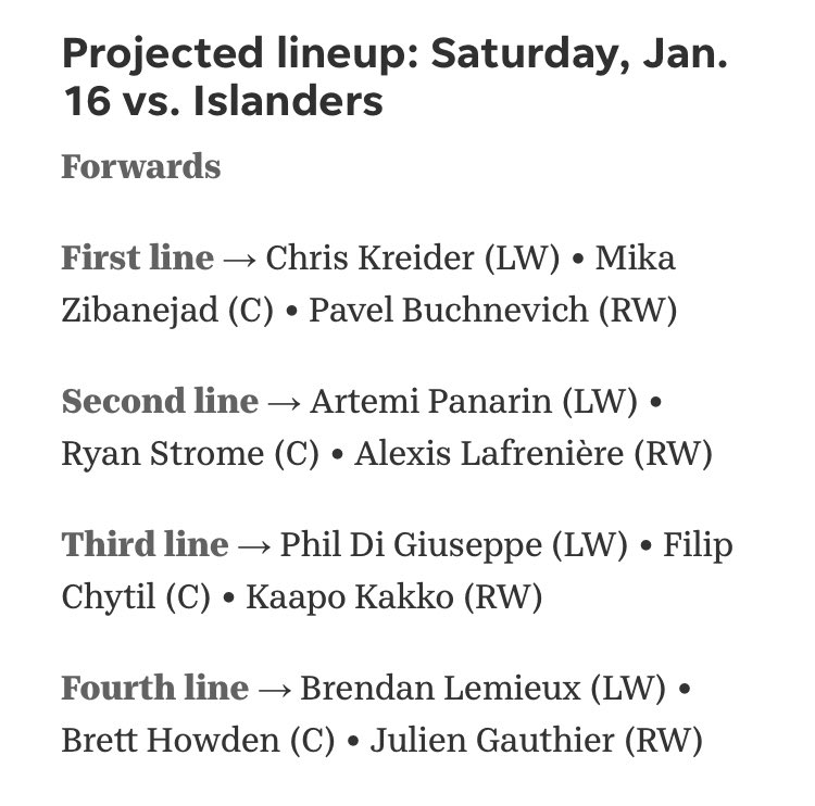 Playing Jack Johnson over K'Andre Miller is a fireable offense #FireDQ #NYR https://t.co/RsxDulsKwO