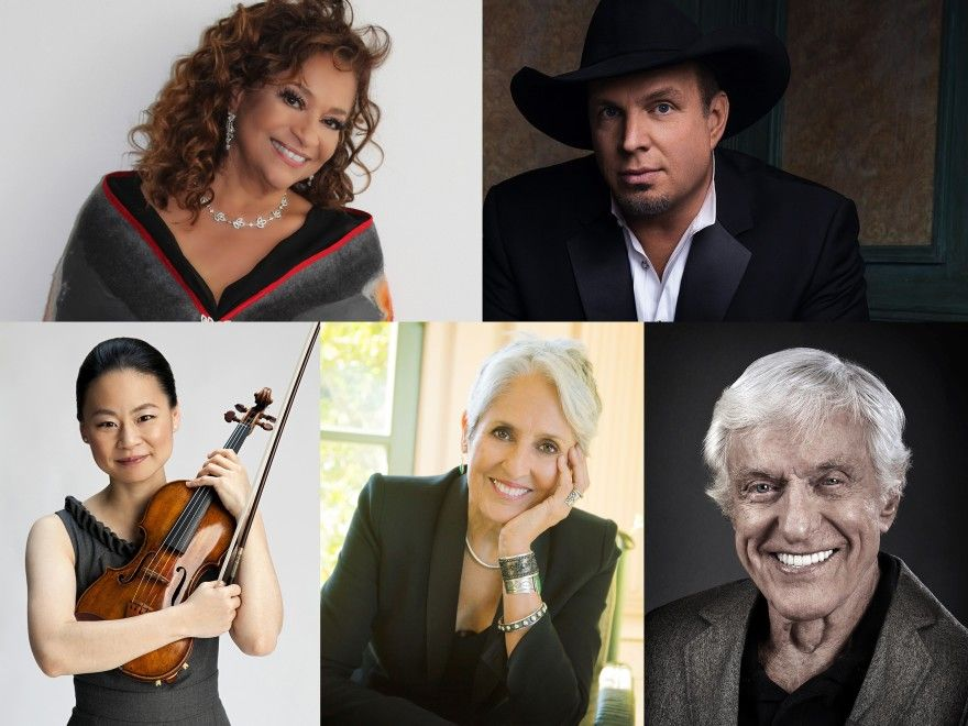The annual Kennedy Center Honorees have been announced: choreographer, and actress Debbie Allen; singer-songwriter and activist Joan Baez; country singer-songwriter Garth Brooks; violinist Midori; and actor Dick Van Dyke.  Via: @NPR | https://t.co/OcI1pSIrZu https://t.co/O46cKV7jPZ