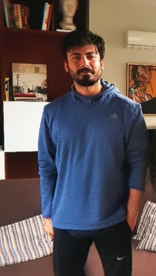 this new look. 🤧💙  #fawadkhan