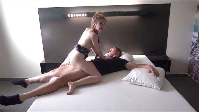 🎞Another hot video sold! 🍑  ❣Horny college girl fucks hard, sucks balls, gets a big cumshot❣   👉👉https://t