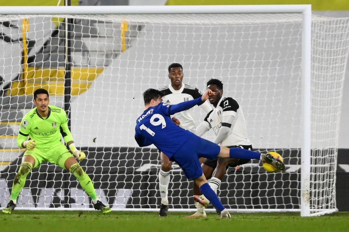 𝗘𝗹 𝗴𝗼𝗹 𝗱𝗲 𝗹𝗮 𝘃𝗶𝗰𝘁𝗼𝗿𝗶𝗮.  Mason Mount 🥰 volvió a marcar y le dio la victoria al Chelsea en un duro partido en el oeste de Londres.