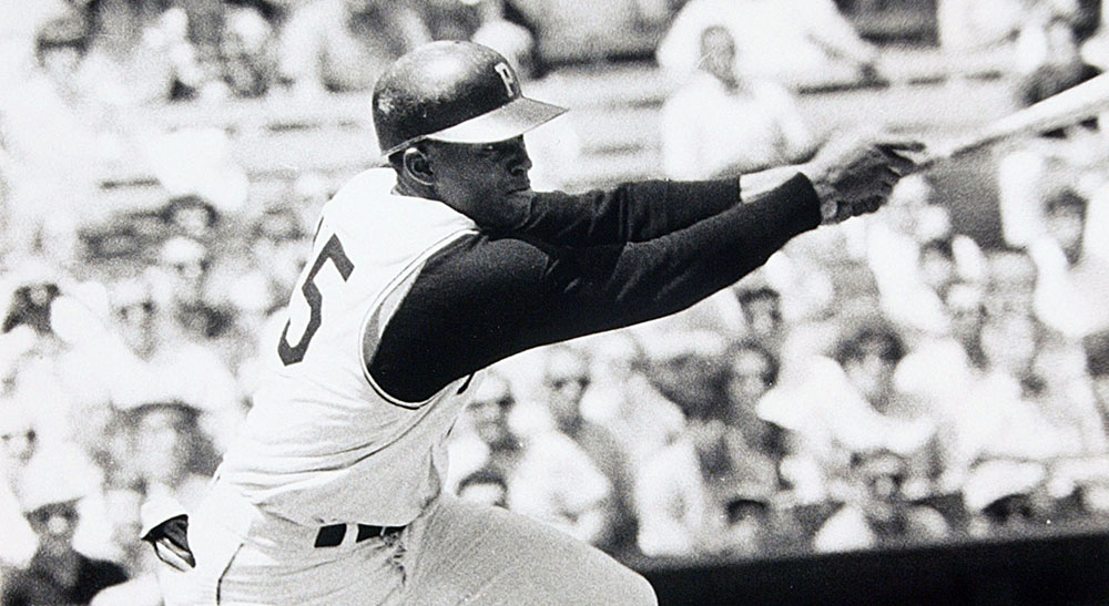 Join us at 2 p.m. ET Monday for a Virtual Voices of the Game celebration of Martin Luther King Jr. Day with Manny Mota, a member of the 1968 @Pirates team that refused to play on Opening Day in tribute to Dr. King. Photo: Courtesy Pittsburgh Pirates