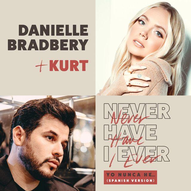 """. @DBradberry y @kurtmusica lanzan la versión en español de  """"Never Have I Ever"""" 😎 y la puedes escuchar en @ClaromusicaMX. 👉"""