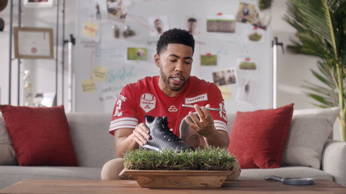 Planting seeds for a big win this weekend. #TeamStateFarm https://t.co/XLfWrx0THM