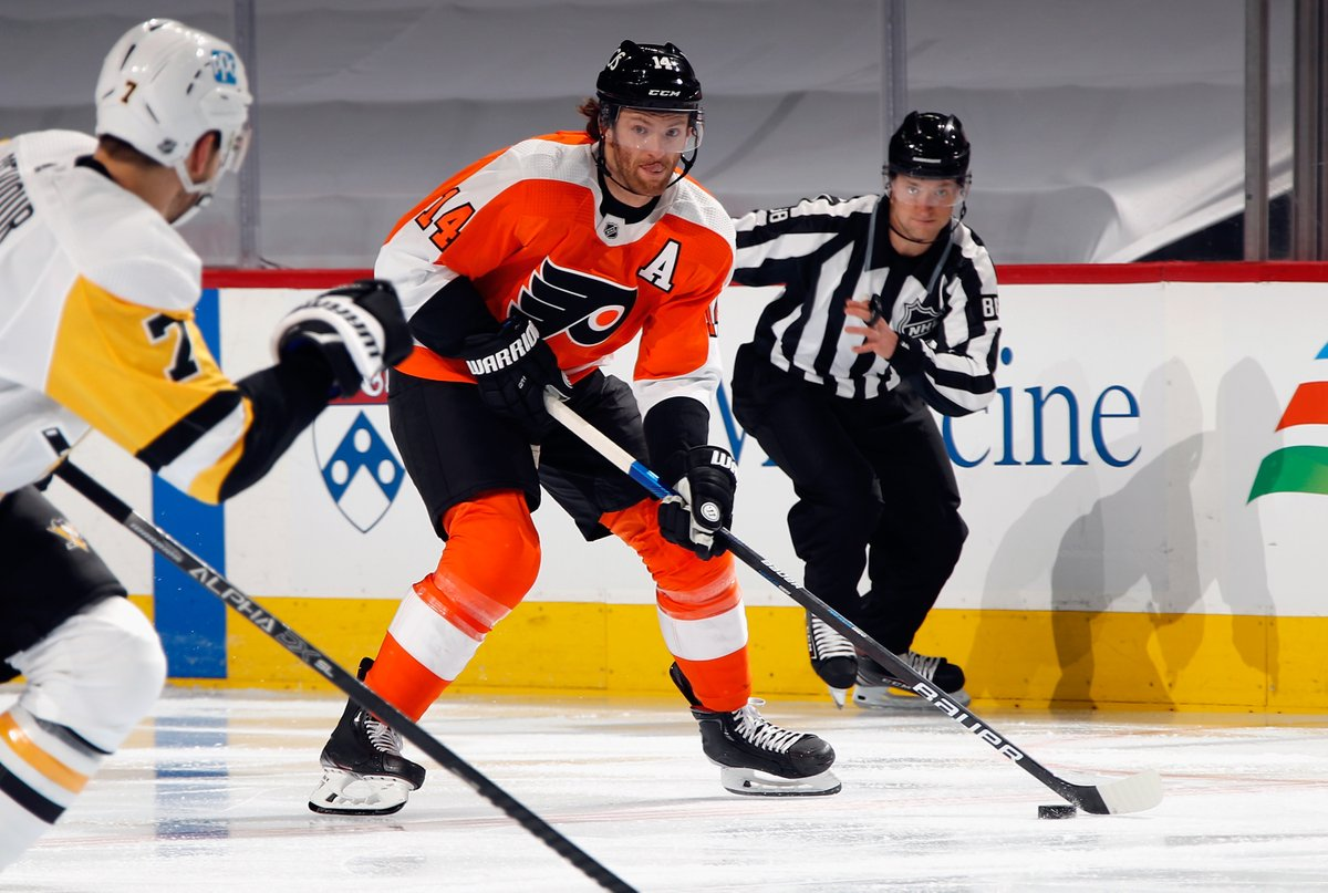 #Flyers forward Sean Couturier will miss a minimum of two weeks with a Costochondral separation.  STORY:   #FlyersTalk #AnytimeAnywhere @973espn