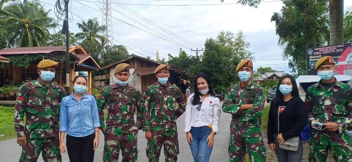 Kalo di kawal kek gini teruss setiap hari gimana ya🙊 #TNIADMengabdiDanMembangunBersamaRakyat #TNI