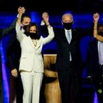 Image for the Tweet beginning: Joe Biden and Kamala Harris