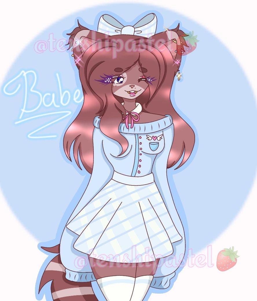 ☁️🤍 Aurora 🤍☁️ A new oc of mine please show this cutie all your love 💖💖✨✨ 🚫DON'T TRACE OR STEAL MY ART🚫 #sabercat #saber #cutie #cuteart #aesthetic #aestheticart #pastel #pastelblue #blue #furryart #furryoc #furryartist