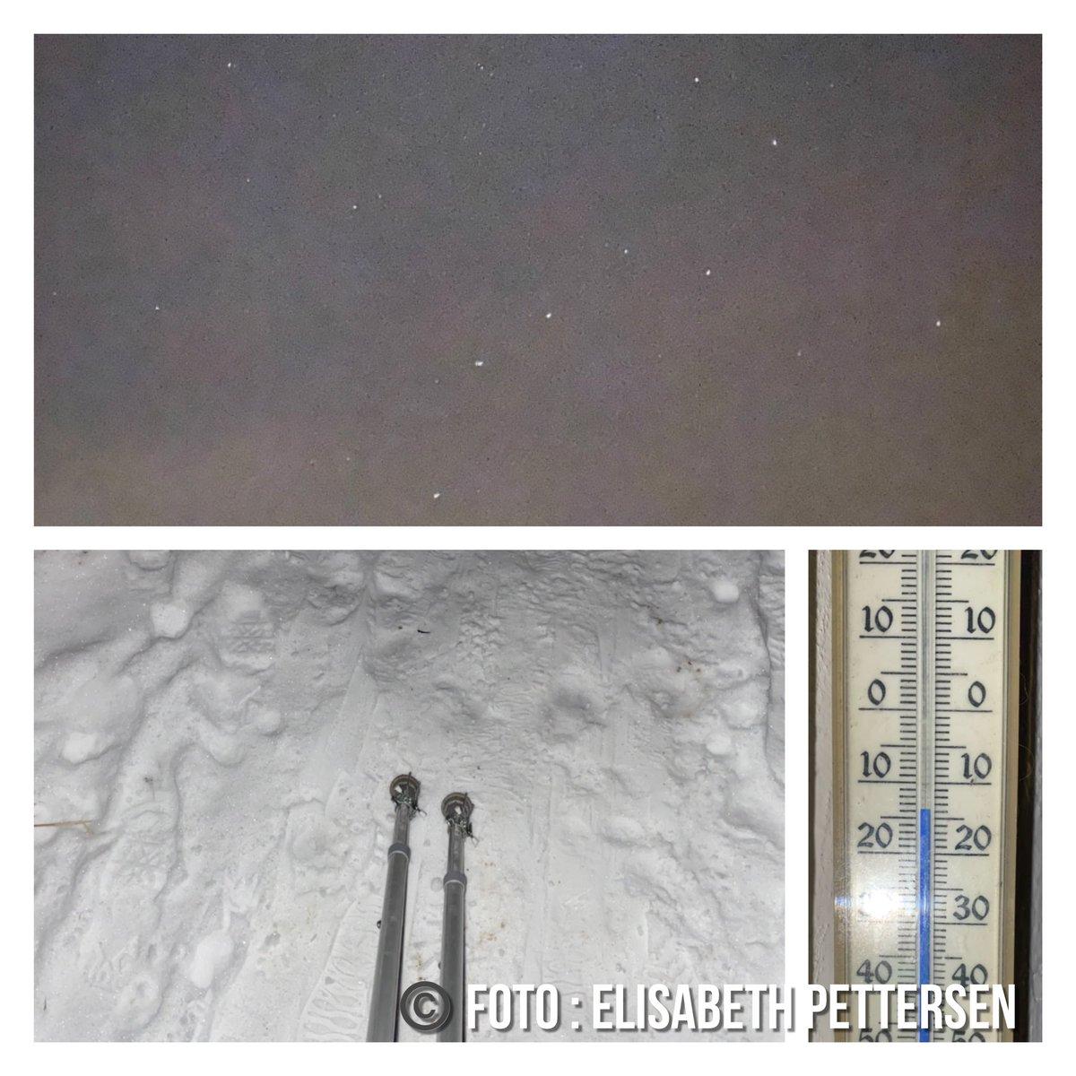 Uff 🥶 så kaldt det er ! Måtte en på en bitteliten tur ut med Leo i kveld og så stjernebildet Karlsvognen på himmelen i frost røyk  ! #DownToOne #Lukebryan