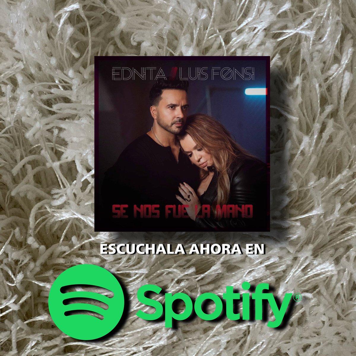 🎧¿Ya la tienes en tu playlist?           🎶Ybeso tras beso🎶  #Spotify:   VIDEO OFICIAL:   #Ednita #EdnitaNazario #LuisFonsi #SeNosFueLaMano #LaMásLoca #ClubAmigosDeEdnita #FanClubOficial #CAE #CAEOrlando #YoSoyCAE @EdnitaNazario