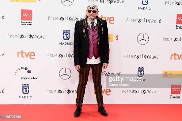 Enrique 'El Drogas' attends 'Jose Maria Forque Awards' 2021 red carpet at IFEMA in Madrid, Spain More 📸 #Forqué2021 https://t.co/8VgGppFO6D #JoseMariaForqueAwards @rtve https://t.co/sTaPes5u37