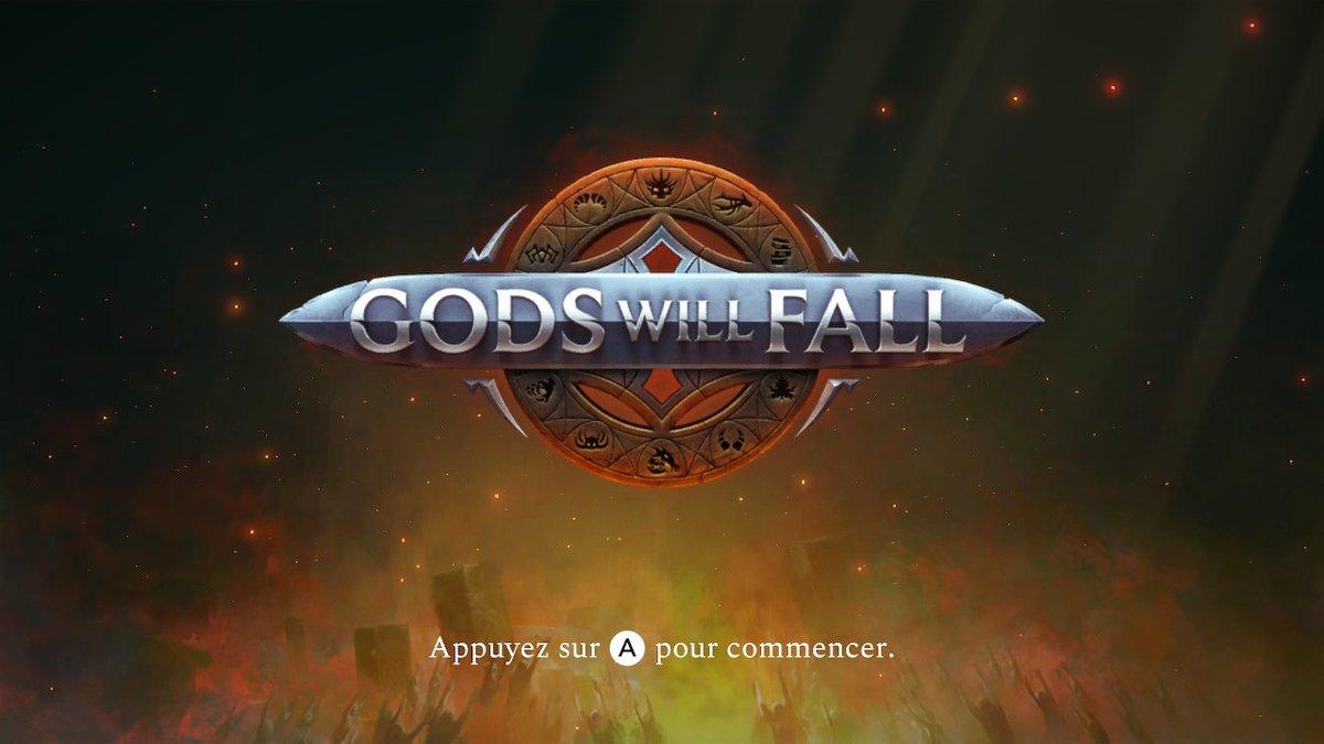 Ce soir, on expérimente #GodsWillFall ;) La critique devrait être dispo pour la sortie à la fin du mois.  #NintendoSwitch