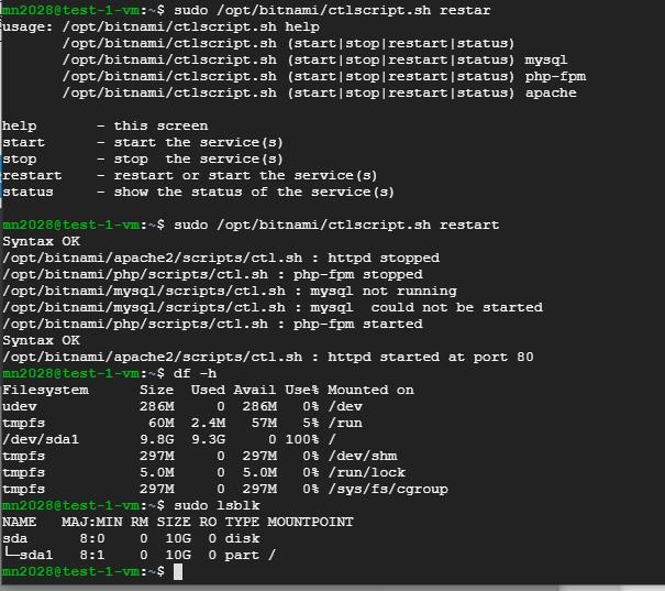 僕のサイトが去年12月から落ちてる。グーグルクラウドにあるヴァーチャルマシーンを再起動してもWebが立ち上がらない。 アッパッチは生きている。PHPも生きている。だけどmysqlが死んでいたのを発見。でもサービス全部リブートしてもmysqlだけ立ち上がらない。