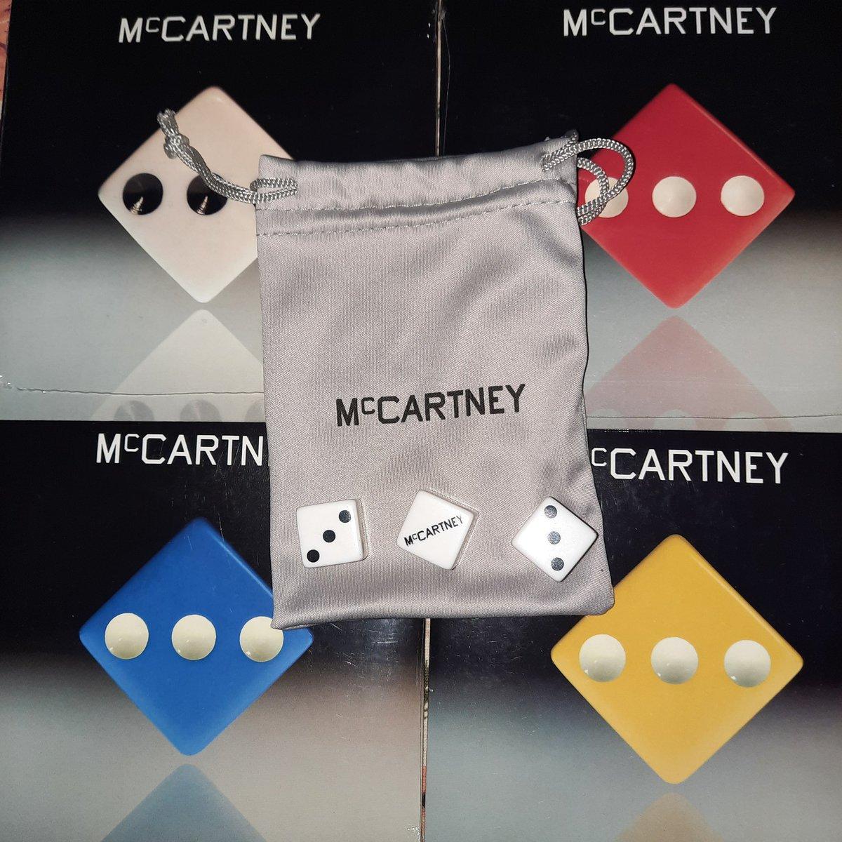Y lo cumplí, ya en mi colección. 🎲 #McCartneyIII @PaulMcCartney