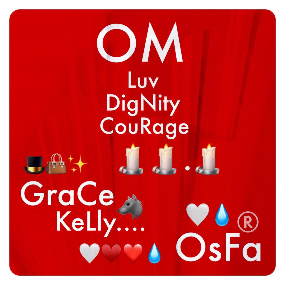 "#OM 👊❤️👍.. ..🕯🕯.🕯 ""...I tried #To_BE liKe #GraCe_KeLly🐺 👊🏼🤜🏼✨🌟✨🤛🏻👊🏻 I Could BE #brOwN, I could Be #BLue🦂 I CouLd bE #VioLeT_Sky🙏🏻 💥👊♥️mi PA #OjosBonitOS TeAMO #Óscar!!"" 🤍🤜🏼🤛🏻🤍 🤍♥️❤️💧 🎩👜✨ w #Luv #DigNity #CouRage #El_MagO #LObitO #OnicO #OMLegacy By #OsFa® 🤍💧"