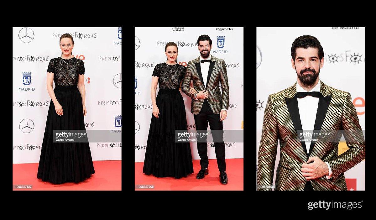 Actress Aitana Sánchez-Gijón and actor Miguel Ángel Muñoz attend 'Jose Maria Forque Awards' 2021 red carpet at IFEMA in Madrid, Spain More 📸 #Forqué2021 https://t.co/8VgGppFO6D  #AitanaSánchezGijón #MiguelÁngelMuñoz #JoseMariaForqueAwards https://t.co/t15saWhWhp