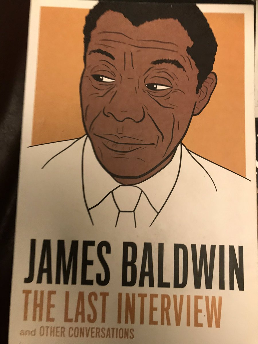 #thread about this book, extracts from it: #JamesBaldwin The Last Interview (2014).