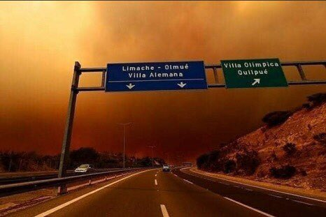 CHILE IS ON FIRE MANY ANIMALS AND PEOPLES LIVES ARE BEING PUT IN DANGER. PLEASE READ THE THREAD BELOW FOR MORE INFORMATION!