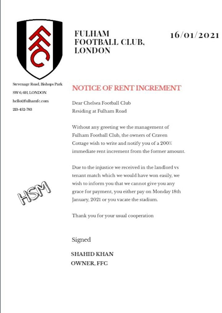 Trust Fulham now, they have increased rent sharp sharp #FULCHE #DGW19 #Werner #Havertz #FPL #FPLCommunity