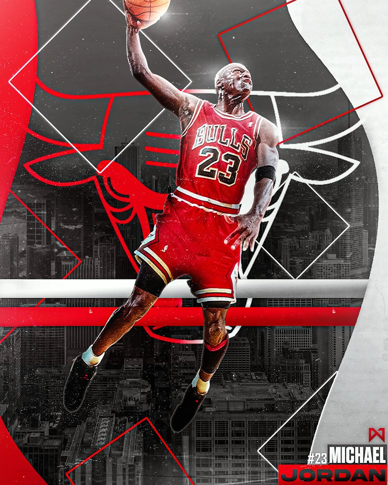 THE G.O.A.T IS HERE! 😤🐐  #NBA #NBAonTNT #NBATwitterLive #BullsNation #GraphicDesign #basketball