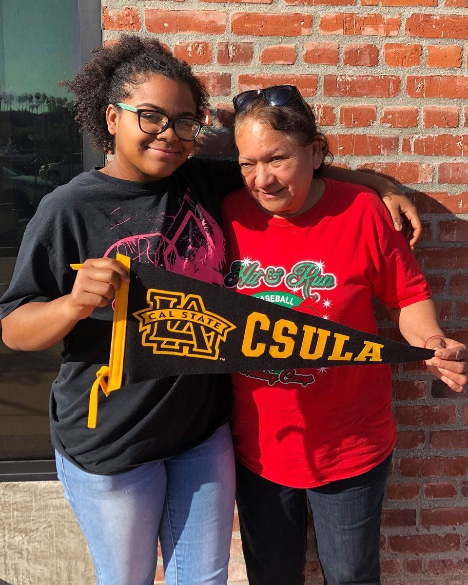Through hard work and perseverance, our @iamcollegetrack scholars always finish the senior year college-accepted 🎓! Will you join our @gofundme campaign to help us bring quality education to underserved communities?