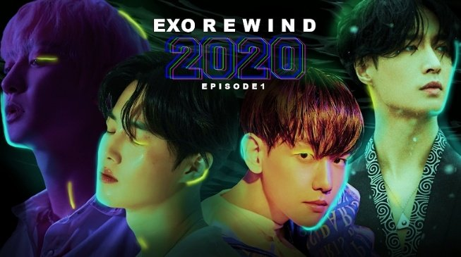 Check out EXO REWIND episode 1 if you haven't! 🤭  I would apreciate if you guys help me rting this🙆‍♀️  💌   #EXO #KPOP @weareoneEXO @B_hundred_Hyun @layzhang