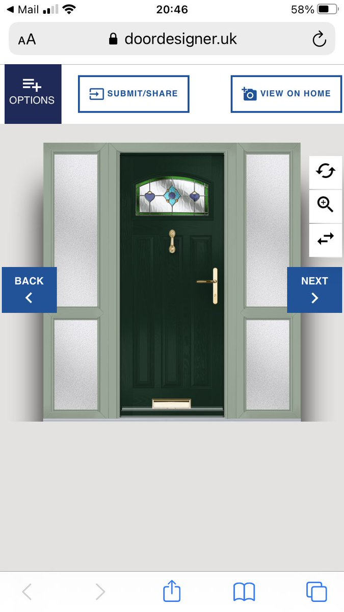 Peak adulting... ordering my new front door