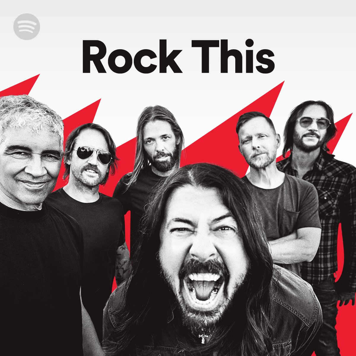 Replying to @foofighters: Turn it up!!! 🤘 #RockThis on @Spotify.   #WOAW #MedicineAtMidnight