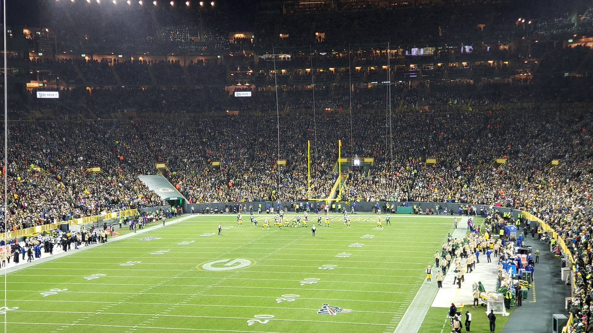 @ukpackers Ok, just recently discovered this page and love seeing the support from across the pond! I'll drop a pic of the last game I was at. Hoping you and all our fellow #Packers fans there get to experience the magic of Lambeau Field at least once! #GoPackGo