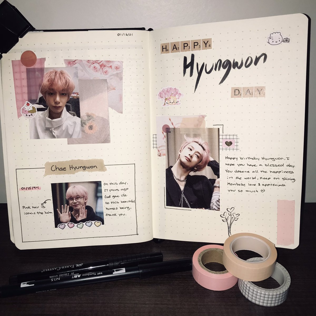 Happy (late) birthday bby ❤️🤍🤍@OfficialMonstaX #HBDtoHYUNGWON #HYUNGWON #HYUNGWONDAY #HAPPYHYUNGWONDAY