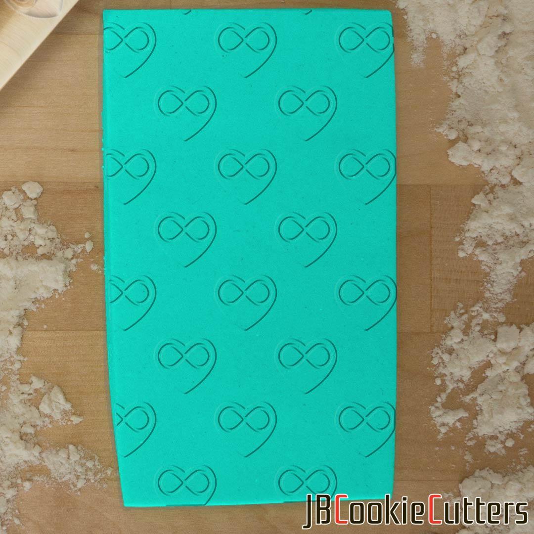 Infinity Heart 765-419 Rolling Pin now available!  #fondant #cake #pastry #dessert #dough #diy #homemade #handmade #bakingsupplies #instadaily #instafood #igdaily #jbcutoutoflove #rollingpins #customize #infinity #heart #love